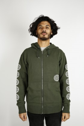 NEIGHBORHOOD LOGIC C-ZIP HOODED